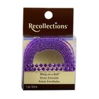 Recollections Bling on a Roll Double Row Rhinestones, 4 mm Light Purple