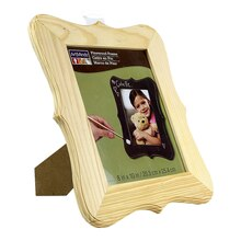 "ArtMinds Parenthesis-Shaped Wood Frame, 8"" x 10"""