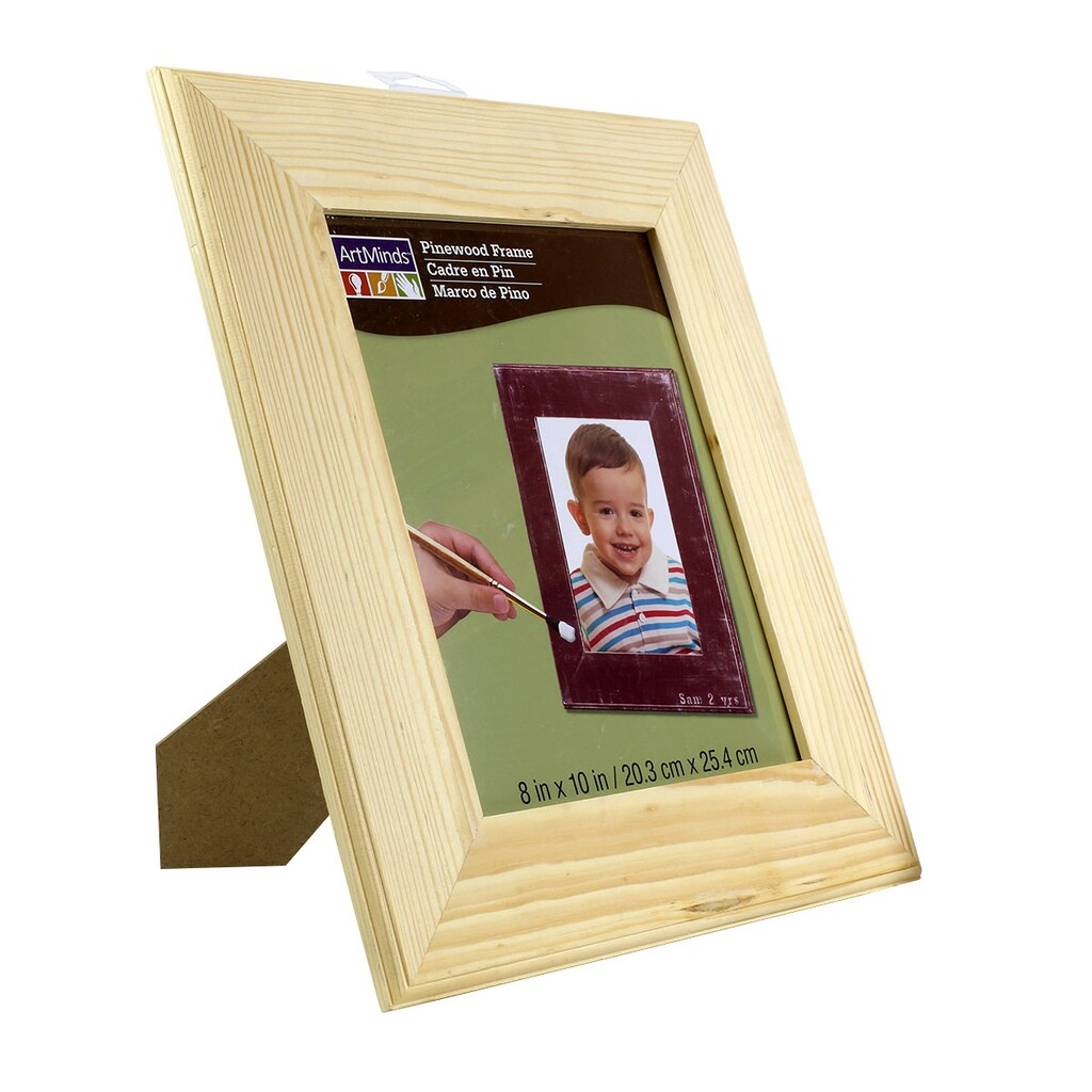 "ArtMinds™ Unfinished Wood Frame, 8"" x 10"""