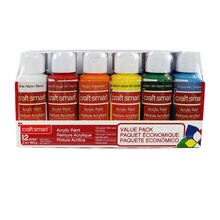 Craft Smart Acrylic Paint Value Pack