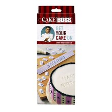 Cake Boss Letter Impression Set