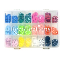 Recollections Embellishments Box, Buttons