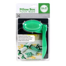 We R Pillow Box Punch Board