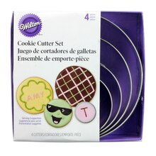 Wilton Nesting Circles Cookie Cutter Set