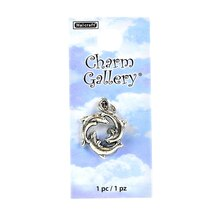 Charm Gallery Silver Plated Dolphin Charm