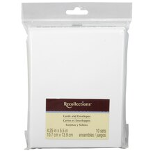 """Recollections Cards & Envelopes, 4.25"""" x 5.5"""""""