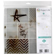 Project Life Heidi Swapp Foil Photo Pocket Pages