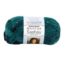 Red Heart Boutique Sashay Sequins Yarn, Fiji