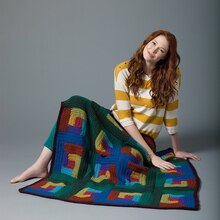 Lion's Pride® Woolspun® Crochet Afghan (Level 2)
