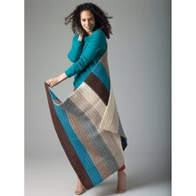 Lion's Pride® Woolspun® Crochet Afghan (Level 1)