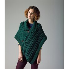 Lion's Pride® Woolspun® Knit Poncho (Level 1)