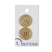Wood Buttons, 1""