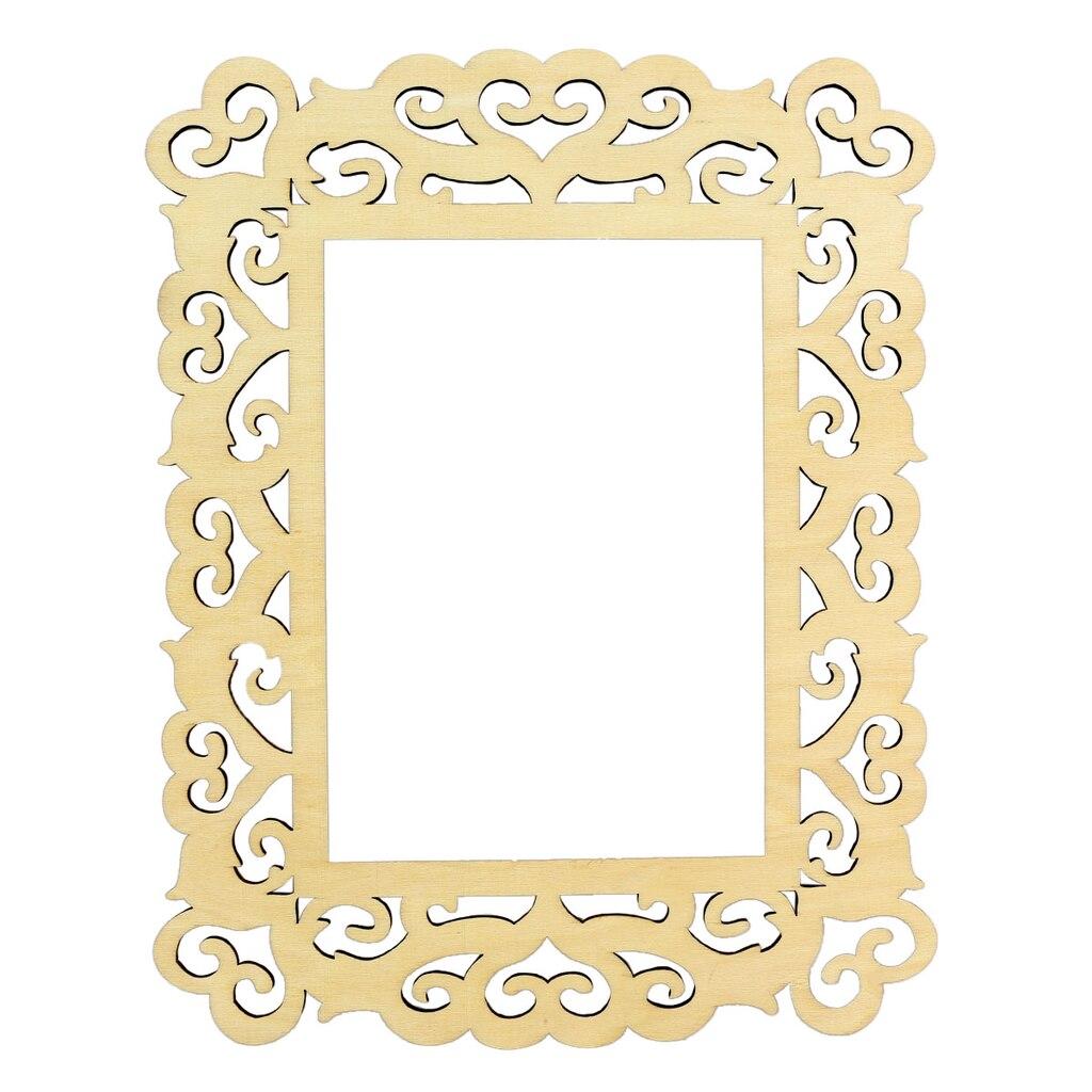 ArtMinds™ Wooden Laser Cut Frame, Hearts 5\