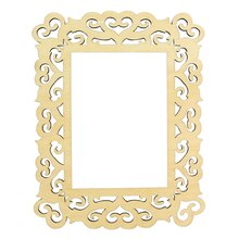 artminds wooden laser cut frame