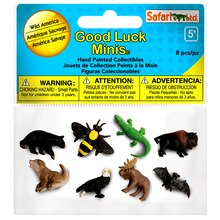 Safari Ltd Good Luck Minis Wild America Fun Pack