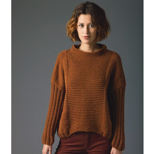 Lions Pride  Woolspun  Knit Pullover (Level 2)
