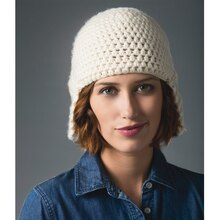 Lion's Pride® Woolspun® Crochet Hat (Level 2)