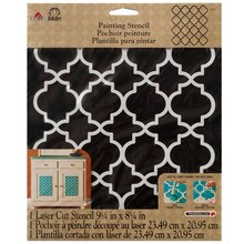FolkArt Large Painting Stencil, Moroccan Tile