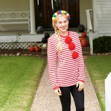 Girl Clown Halloween Costume