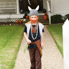 Kids' Halloween Viking Costume