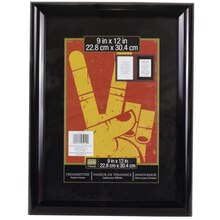 "Studio Decor Trendsetter Frame, Black 9"" x 12"""