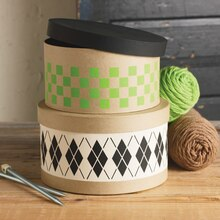 Argyle Round Box Set, medium