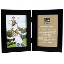 studio decor simply essentials 2 opening hinged frame - Multiple Photo Frame
