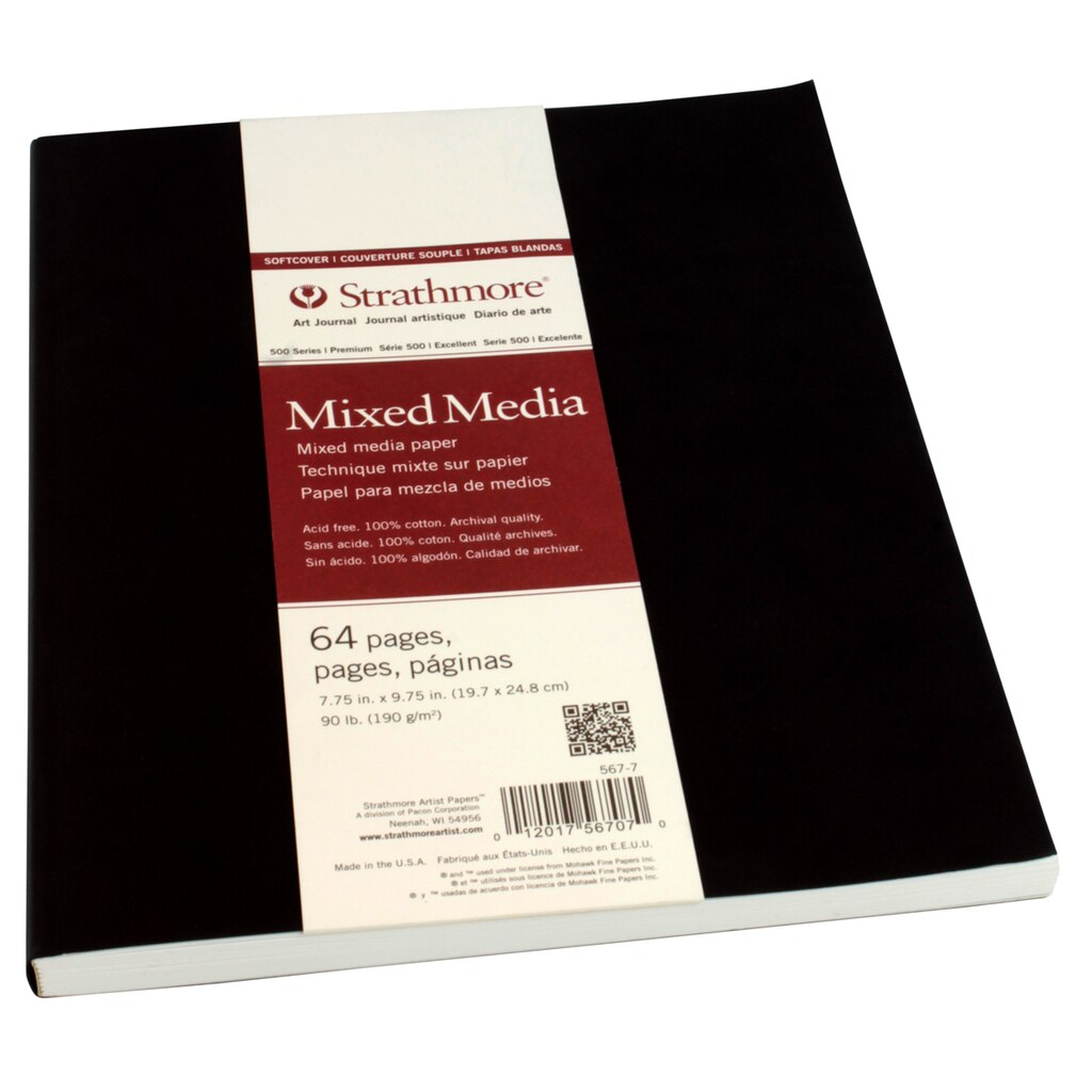 strathmore174 500 series mixed media softcover art journal
