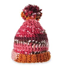 Isaac Mizrahi® CRAFT™ Lexington Pom Pom Hat (Crochet)