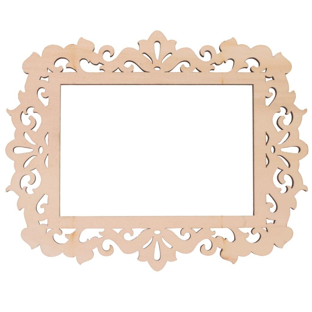 Artminds Wooden Laser Cut Frame Ivy 4 Quot X 6 Quot
