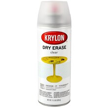 Krylon Dry Erase Clear Spray Paint