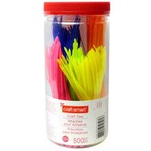 Craft Smart Craft Ties, Small Fluorescent Assortment