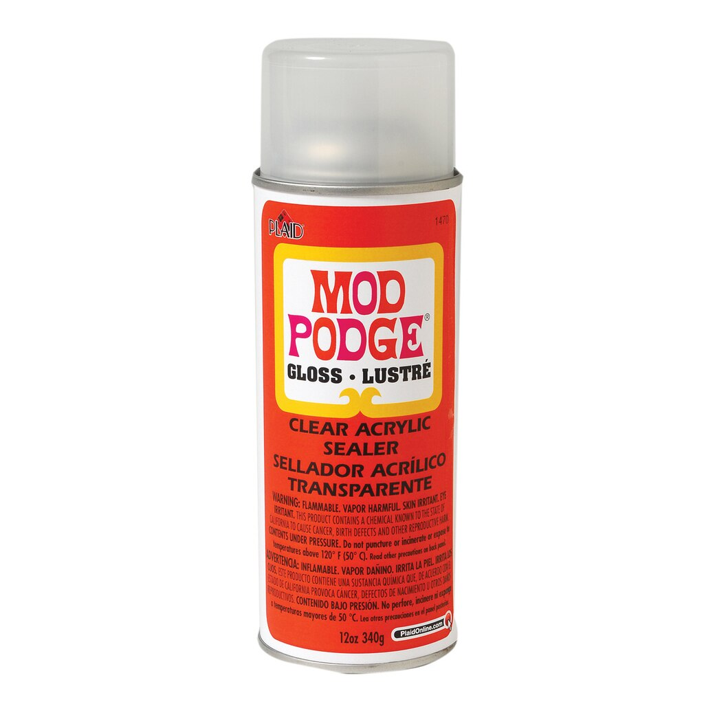 mod podge clear acrylic sealer gloss