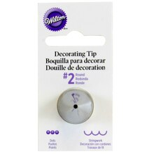 Wilton Round Decorating Tip, #2