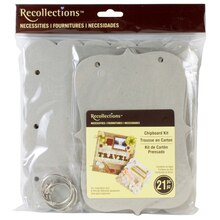 Recollections Necessities Chipboard Kit, Small