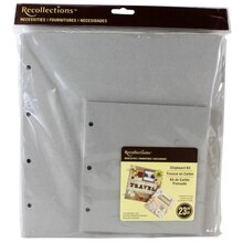 Recollections Necessities Chipboard Kit, Large