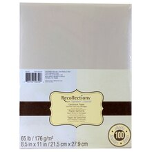 Recollections Signature Shimmer Cardstock Paper Duo