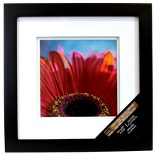 "Black Square Gallery Wall Frame with Double Mat by Studio Décor, 8"" x 8"""