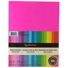 Recollections Bright Essentials Cardstock Paper
