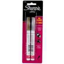 Sharpie Oil-Based Paint Markers, Fine Point Metallic Set