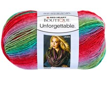 Red Heart Boutique Unforgettable Yarn, Parrot