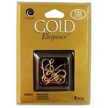 Cousin Gold Elegance Ball Hook Wire
