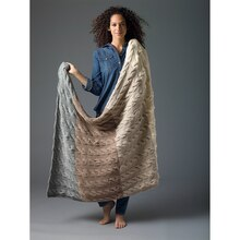 Lion's Pride® Woolspun® Knit Afghan (Level 2)