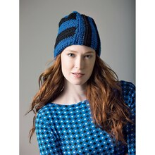 Lion's Pride® Woolspun® Crochet Hat (Level 1)