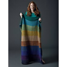 Lion's Pride® Woolspun® Knit Afghan (Level 3)
