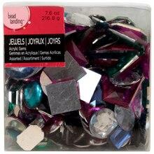 Bead Landing Acrylic Gems, Large Multi