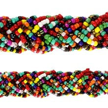 Bead Gallery Glass Seed Bead Bracelet, Multi, Close Up