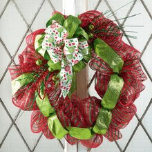 Sparkle Mesh Wreath