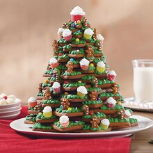 3-D Christmas Tree Cookies
