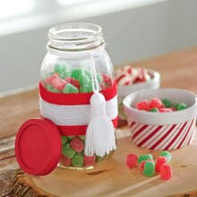Mason Jar Candy Holder
